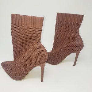 Bootie pink Heels